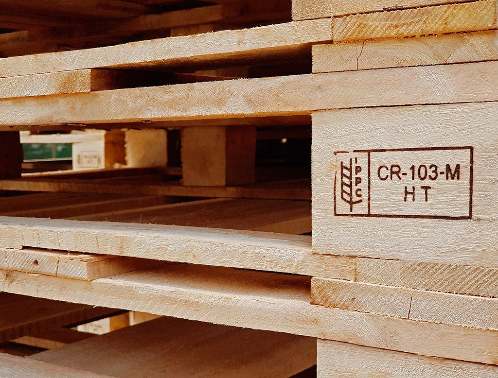 Venta de tarimas de madera certificadas en Costa Rica