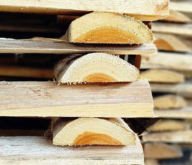 Empresa constructora de tarimas de madera